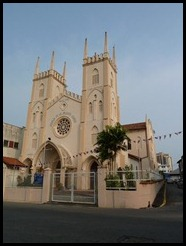 Malaysia, Malaka, Catholic Church, 20 September 2012 (2)