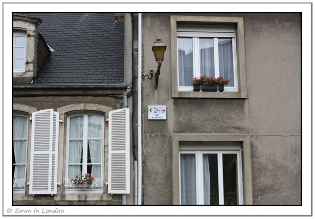 Windows and Doorways of Boulogne France 3