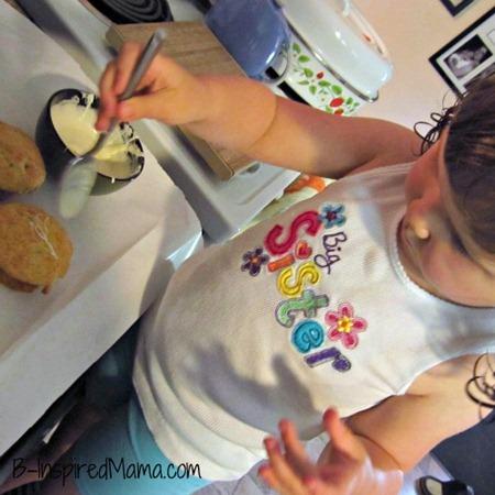 White Chocolate Banana Muffins 2