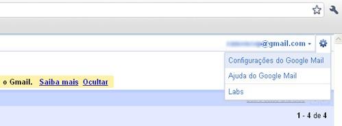 gmail configurando para reverter o envio cancelar email
