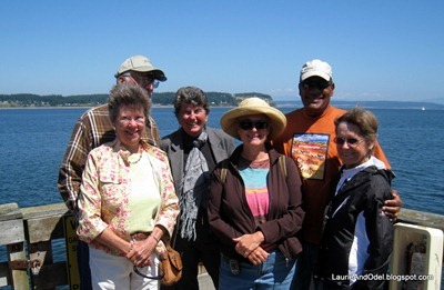 Ann, Mick, Elaine, Laurie, Odel, Mary