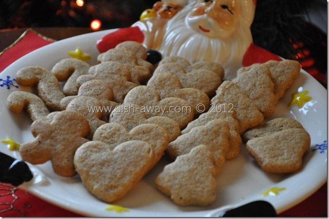 Ginger Cookies Recipe by www.dish-away.com