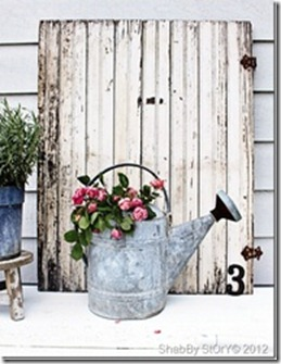 Shabby garden decor