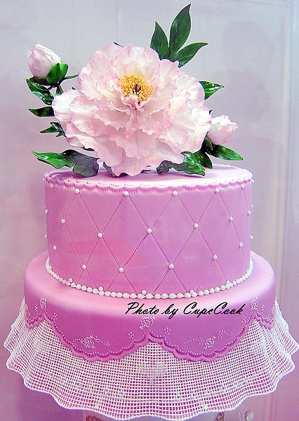 糖花蛋糕第一名特寫