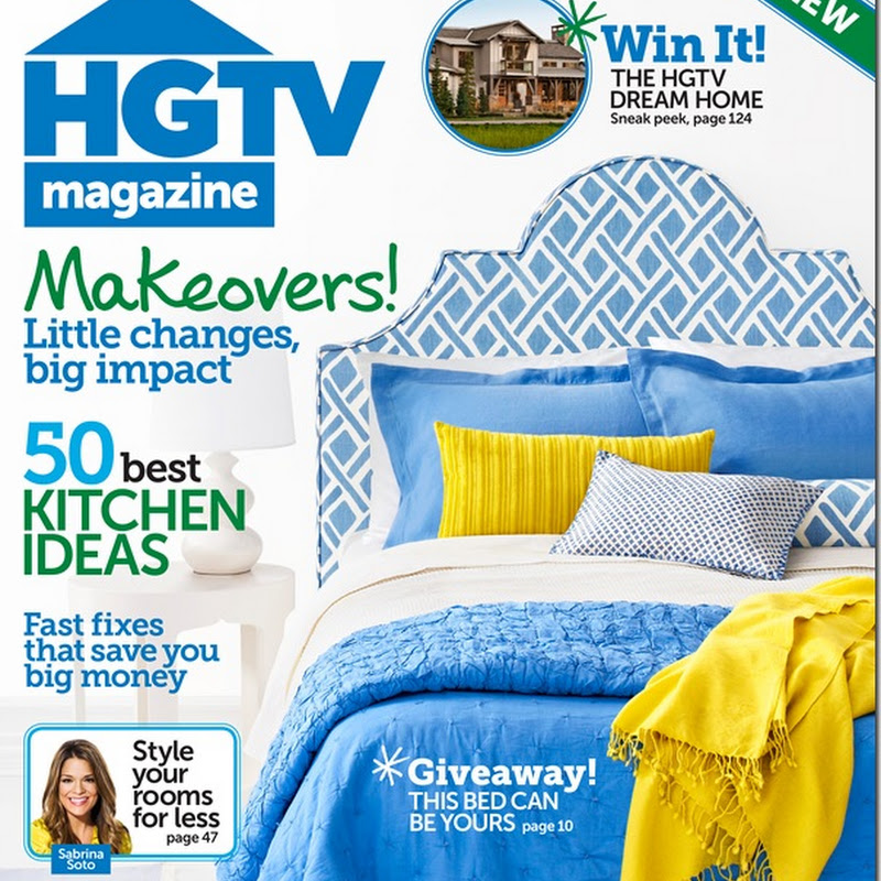 HGTV Mag: Feb/March Issue…