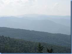 0540 North Carolina, Blue Ridge Parkway - Waterrock Knob Overlook view