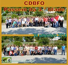 CDBFO - Passeio da 3.ª Idade - 24.09.14