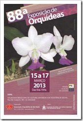 88ª Exposição de Orquídeas