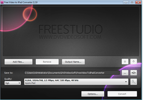 โปรแกรม DVDVIDEOSOFT
