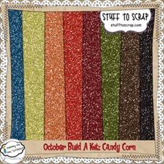 Candy Corn Glitters