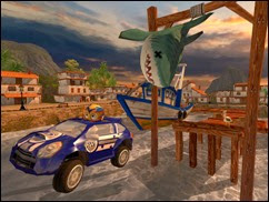 لعبة البيتش باجى Beach Buggy Racing للأيفون وأيباد - 2