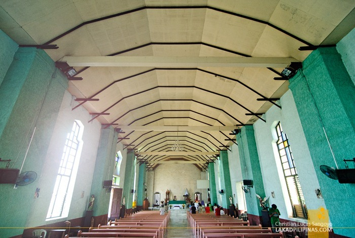 The Simple Interiors of Poro Church