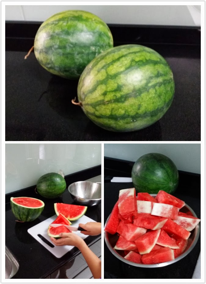 Stay At Home Mom s Review on A*Juicer: Watermelon!