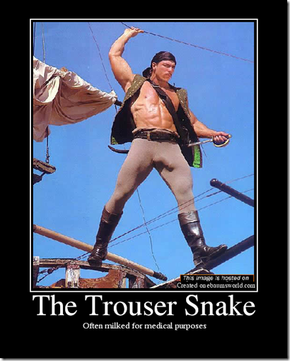 trouser snake 4