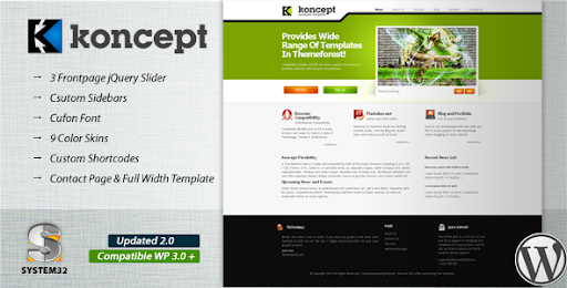 Koncept 10 in 1 - Business & Portfolio Wordpress - Business Corporate