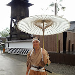 a resident of Edo Wonderland in Nikko, Totigi (Tochigi) , Japan