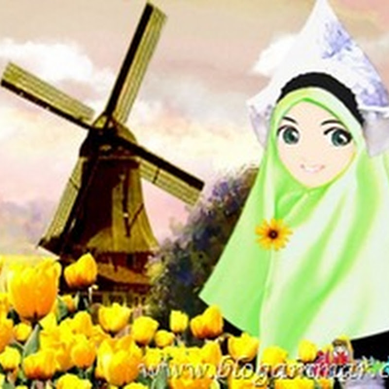 KOLEKSI GAMBAR KARTUN MUSLIMAH