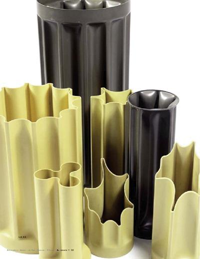 Enzo Mari bambu vase collection