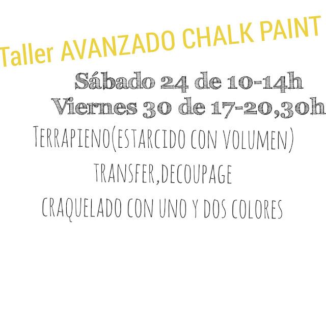 talleres chalk paint leon
