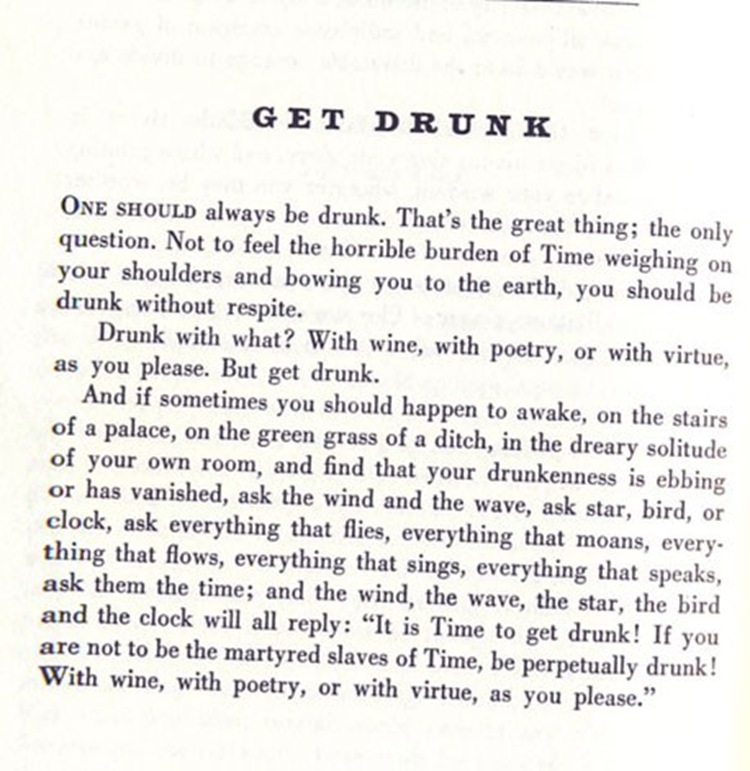 Get Drunk Text