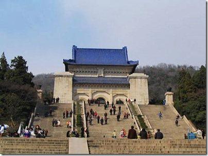 Sun Yat-sen Mausoleum in Nanjing 中山陵