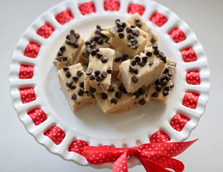 chocolate chip cookie dough fudge 3