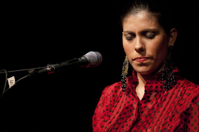 María José Pérez - Festival Flamenco de Almería - Patio del Colegio La Salle (Almería) - 28/8/2008