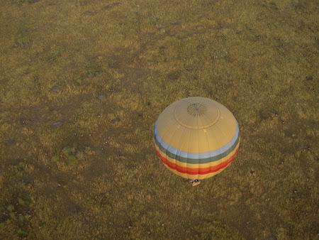 Safari travel: In a balloon above Masai Mara