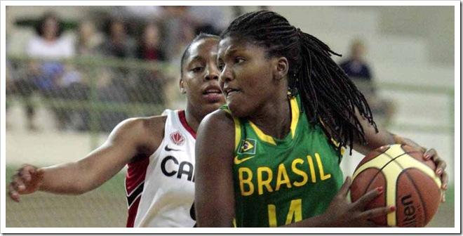 Brasil x Canadá Sub19 - Torneio Internacional Sub-19 de Basquete, partida entre Brasil x Canadá. - Brasil - sp - Jundiaí - Ginásio Romão Souza -  - www.inovafoto.com.br - id:11282