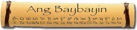 Baybayin on Bamboo Shell