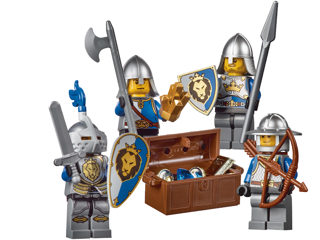 Lego fantasy era crown knight scale mail with crown breastplate - There Is No Description Yet Want To Add It