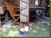 Patung petruk tinggi - kaki