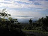 Looking back down towards Tasikmalaya from Galunggung (Daniel Quinn, March 2010)
