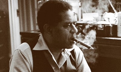 dizzy gillespie smoking a cigar 1976 Tom Marcello.jpg