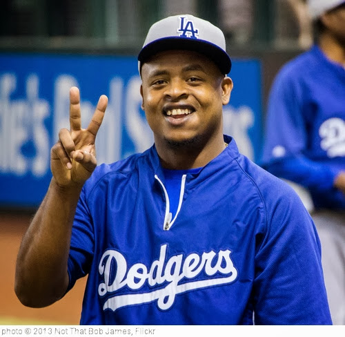 'Peace Out Volquez' photo (c) 2013, Not That Bob James - license: http://creativecommons.org/licenses/by-nd/2.0/