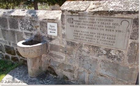 Fuente de los peregrinos - Villatuerta
