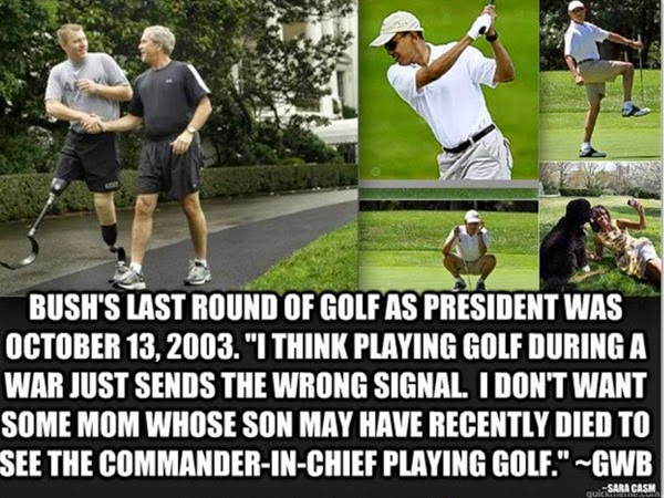 george-bush-golf