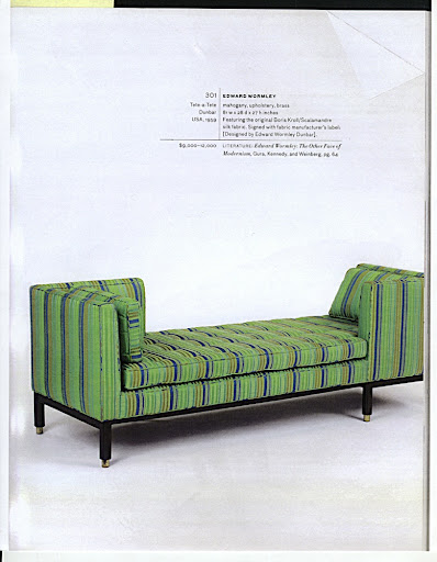 A sofa by Edward Wormley.