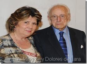Antonio Mingote y Dolores de Lara