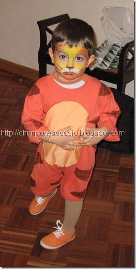 disfraz tigre disfrazcasero