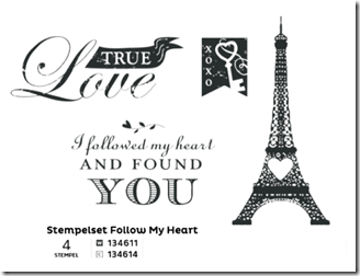 Stempelset Follow my Heart (Small)