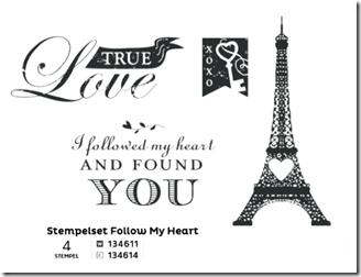Stempelset Follow my Heart (Small)