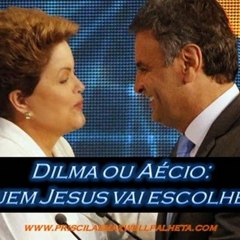 Dilma ou Aécio: Quem Jesus vai escolher ?
