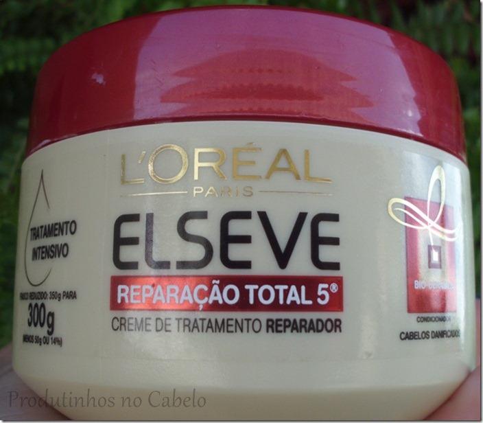 A mascara Elséve reparação Total 5  funciona?