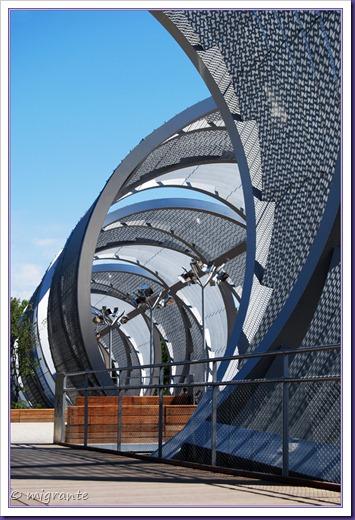 puente monumental de arganzuela - encuentro de tramos