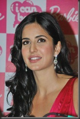 Katrina Kaif launches her Barbie doll at Andheri.