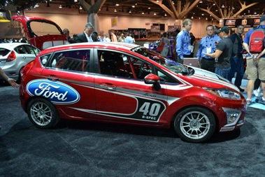 Ford Fiesta B-Spec Revealed: 2011 SEMA Show