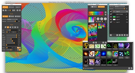 Flame Painter Creative Drawing Software