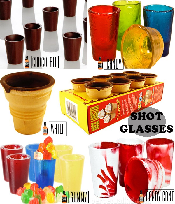 Shot-Glasses-Comestveis-Chocolate-Wafer-Candy-Gummy-Candy-Cane