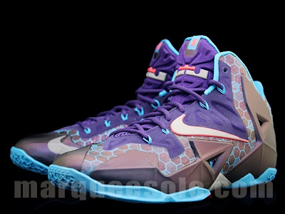 nike lebron 11 gs summit lake hornets 4 01 Upcoming Nike LeBron XI Summit Lake Hornets